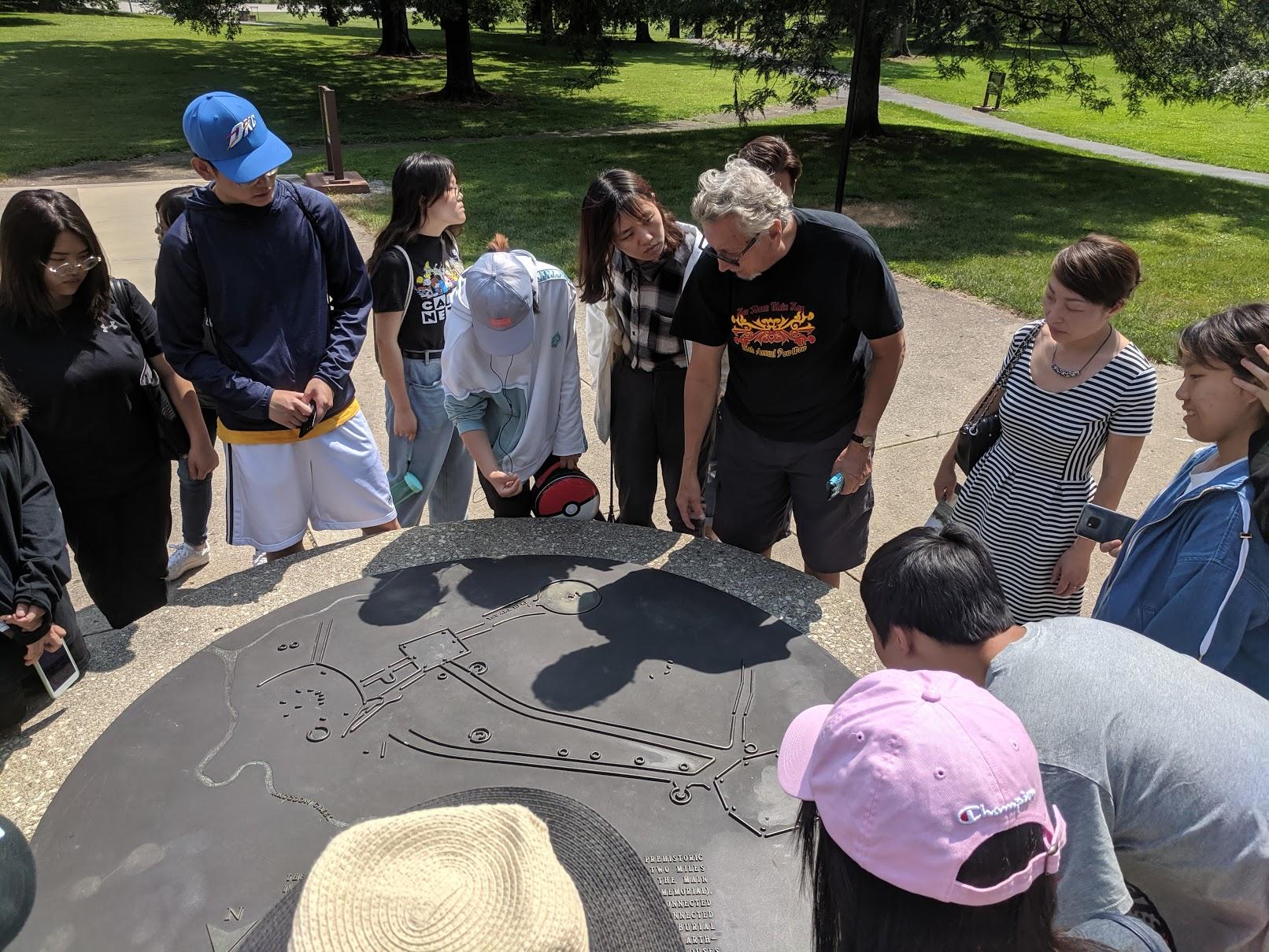 China Students at Great Circle 2019 B